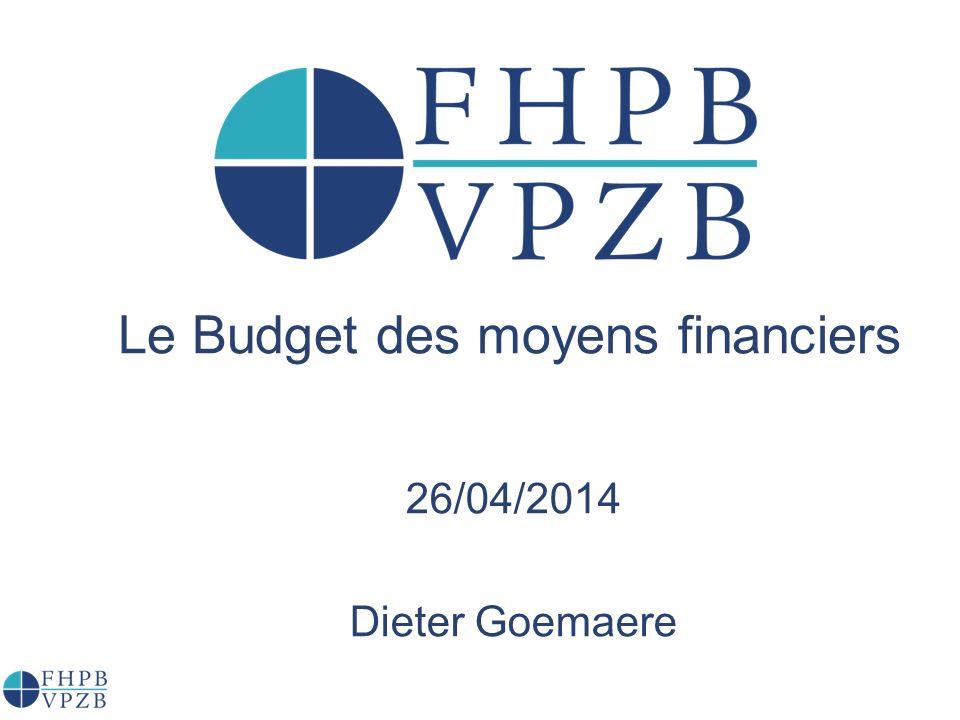 Le Budget des moyens financiers