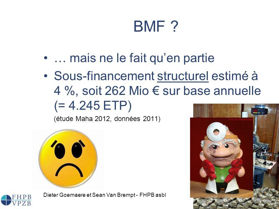 BMF … mais ne le fait qu'en partie
