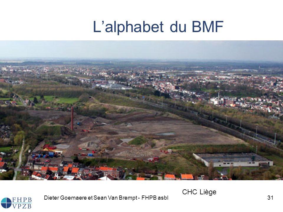 L'alphabet du BMF CHC Liège