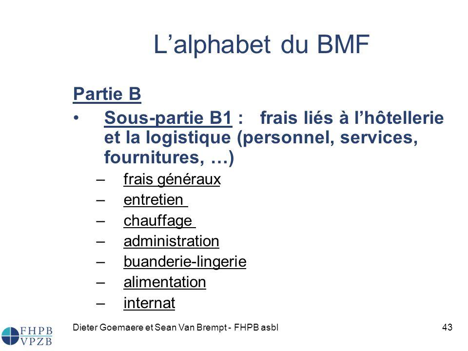 L'alphabet du BMF Partie B