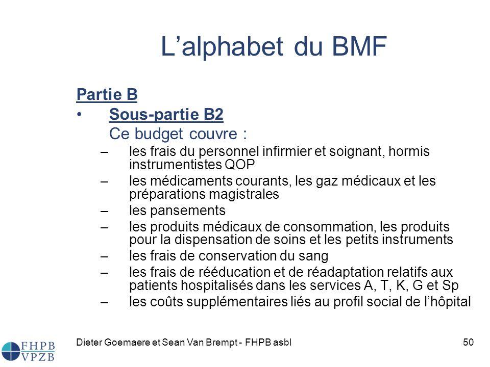 L'alphabet du BMF Partie B Sous-partie B2