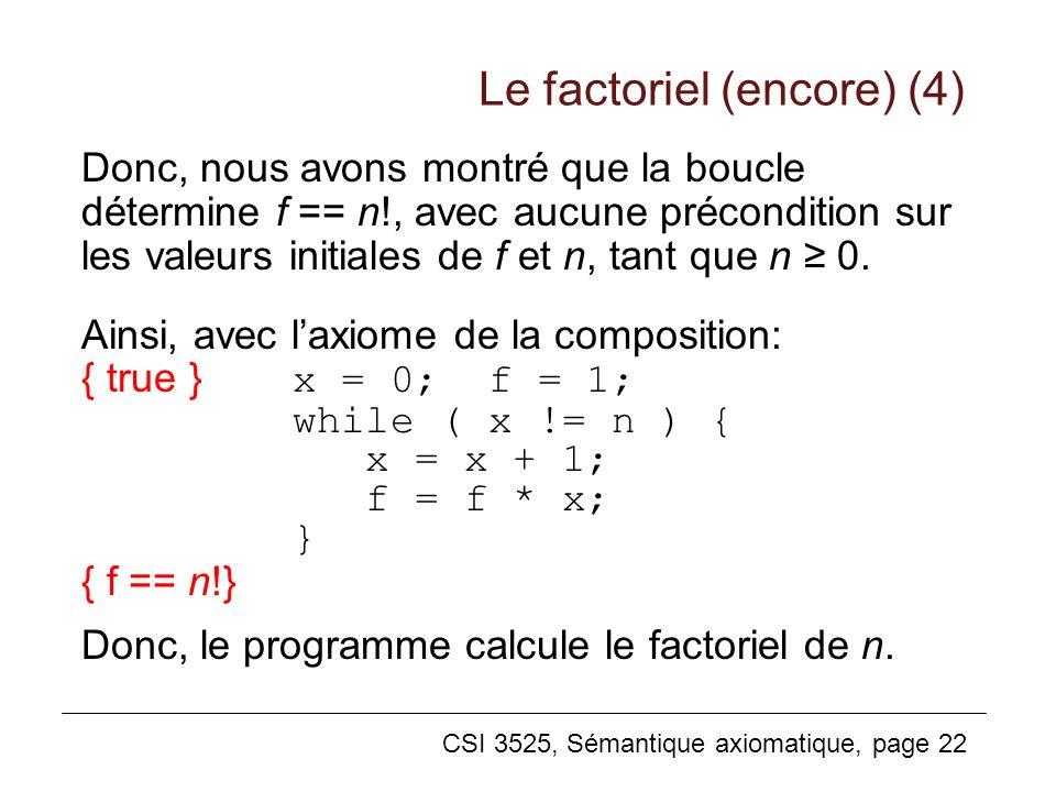Le factoriel (encore) (4)