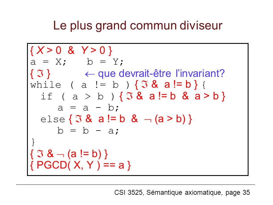 Le plus grand commun diviseur