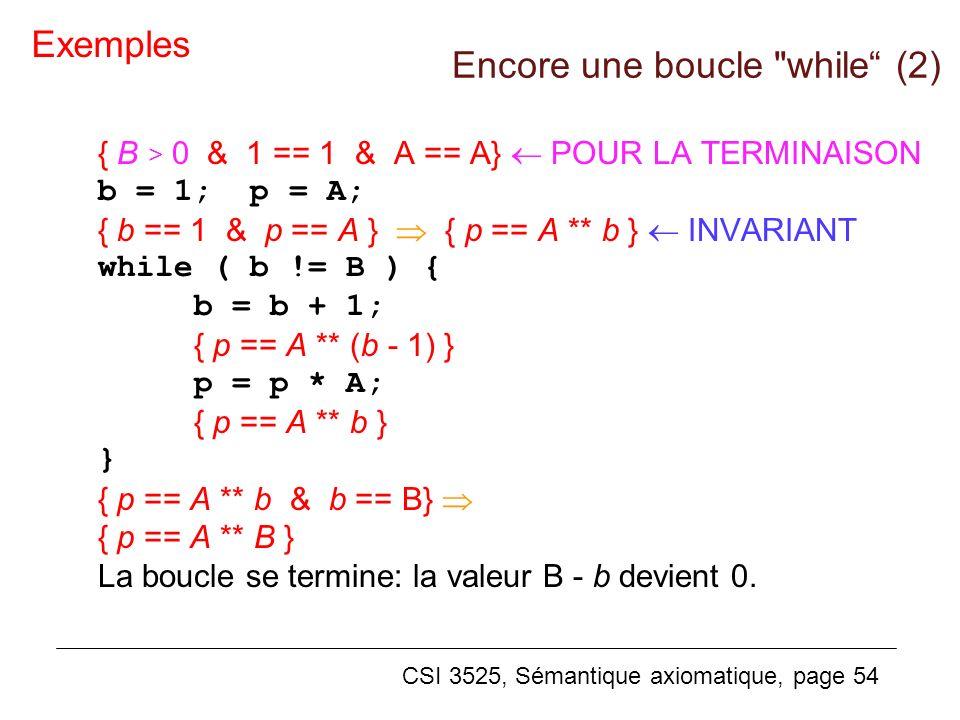 Encore une boucle while (2)