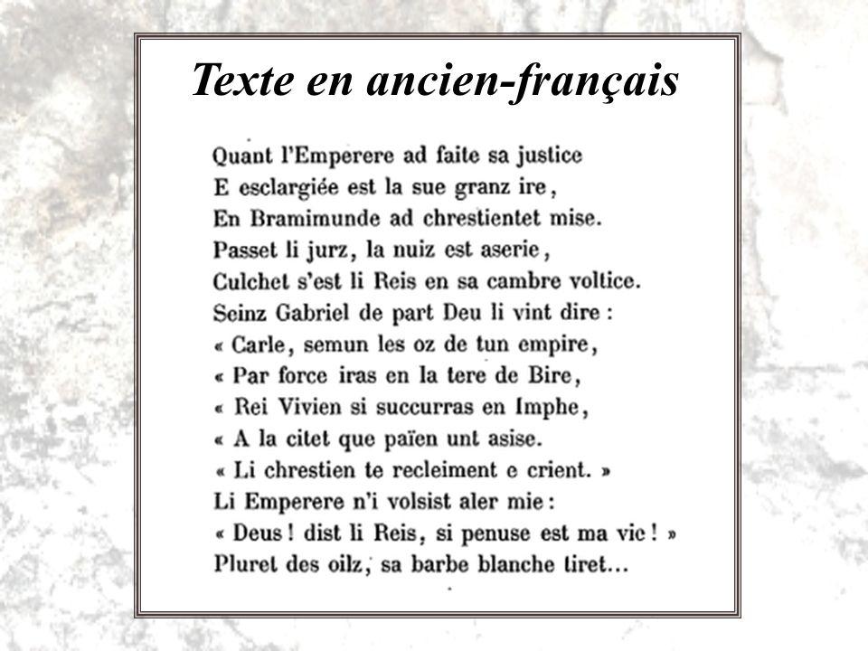 Texte en ancien-français