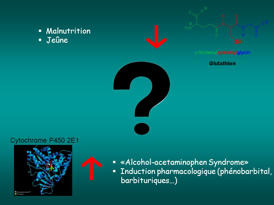 «Alcohol-acetaminophen Syndrome»