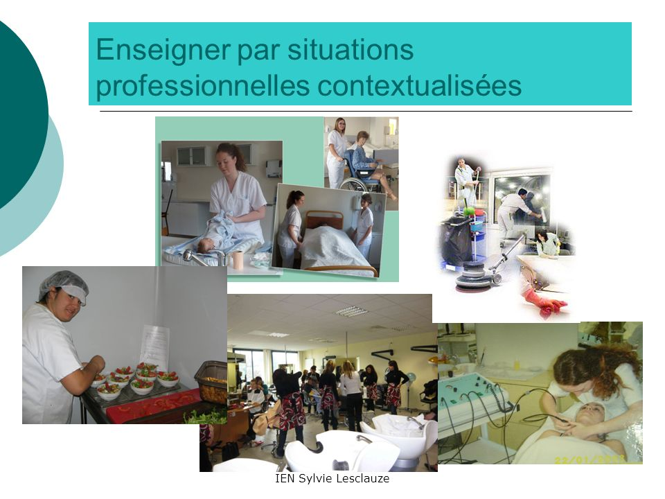 Enseigner par situations professionnelles contextualisées