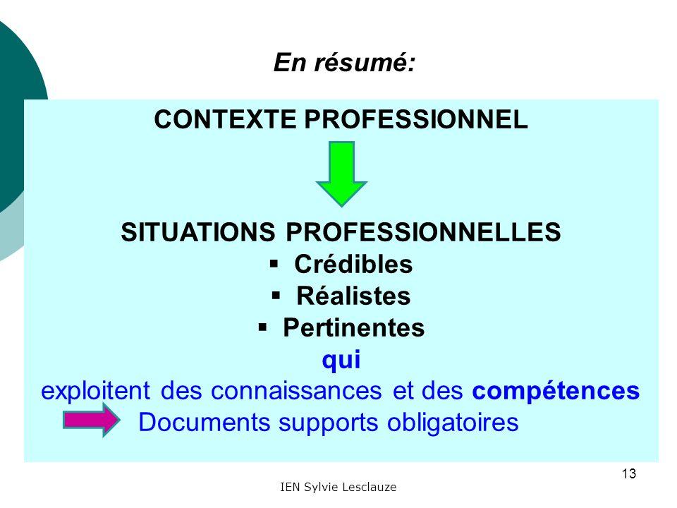 enseigner par situations professionnelles contextualis u00e9es