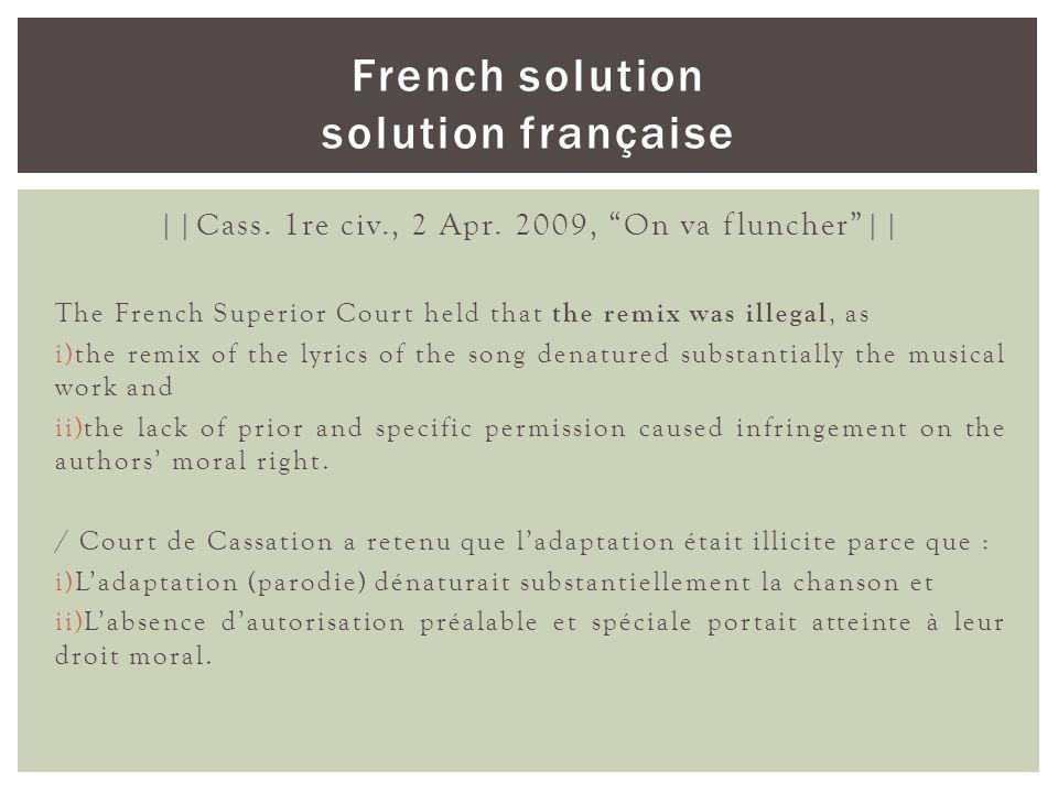 French solution solution française