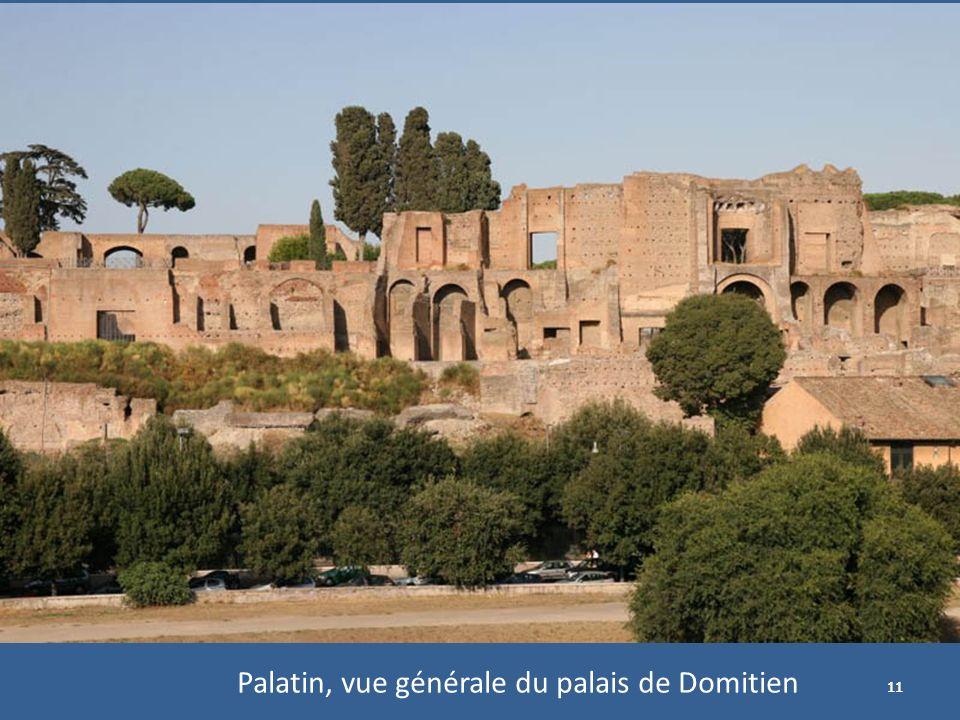 Palatin, vue générale du palais de Domitien