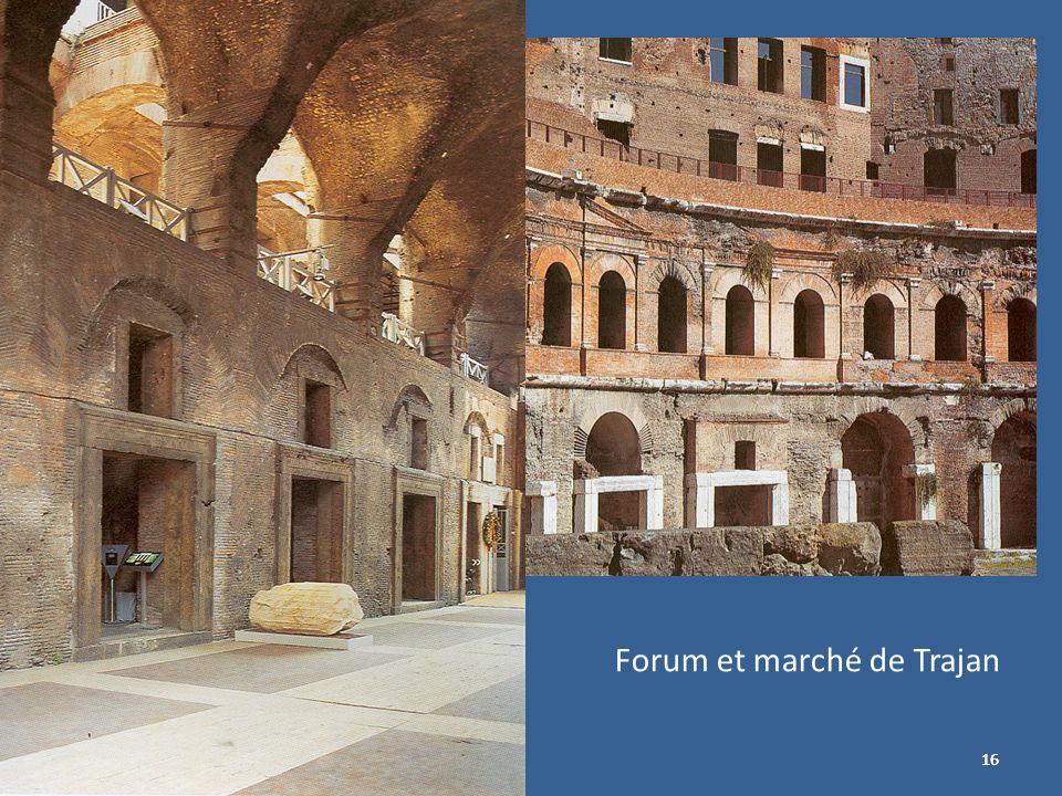 Forum et marché de Trajan