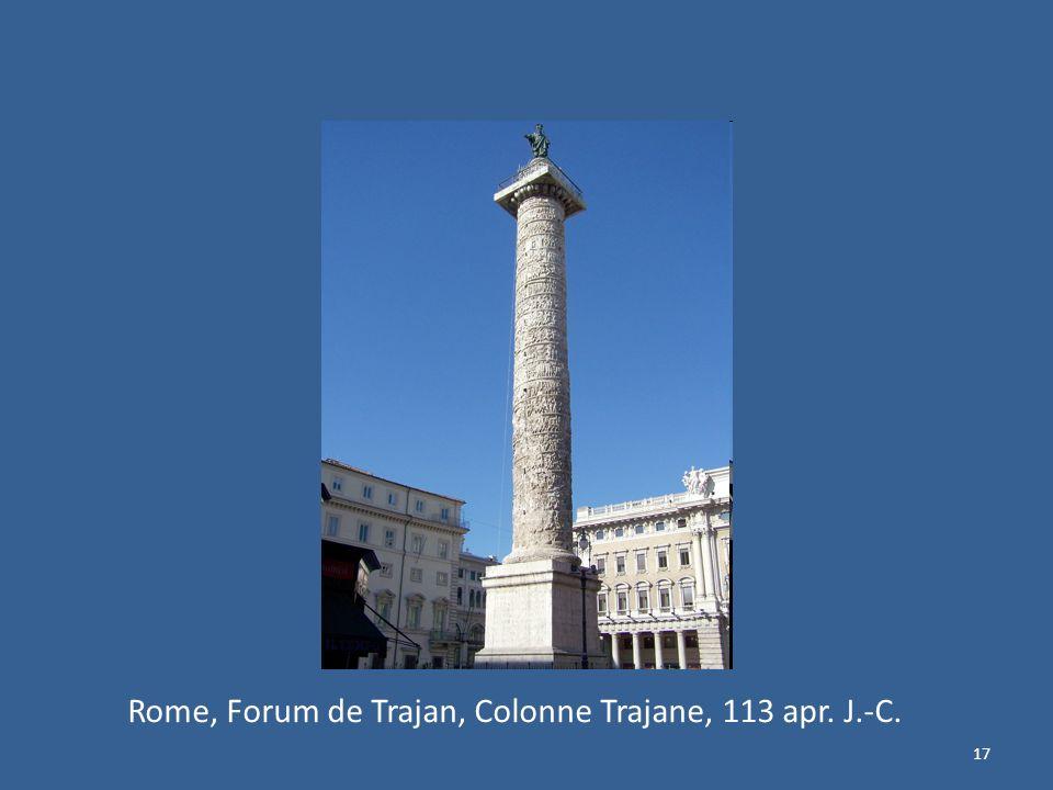 Rome, Forum de Trajan, Colonne Trajane, 113 apr. J.-C.
