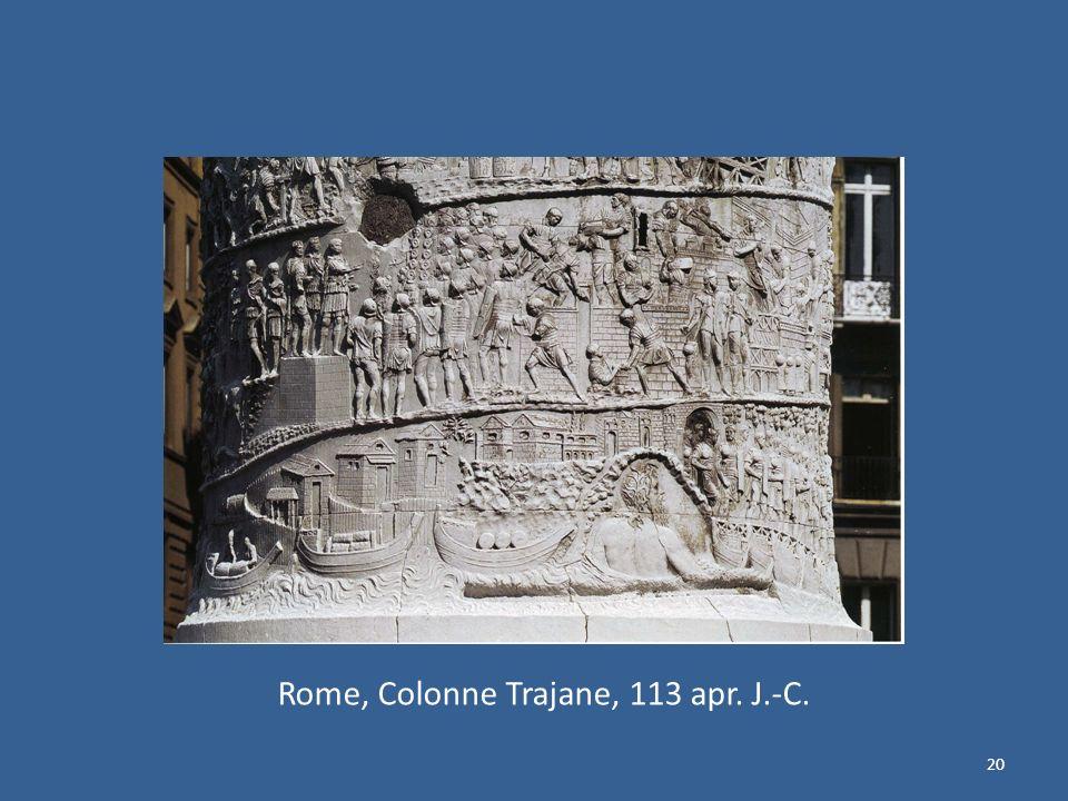 Rome, Colonne Trajane, 113 apr. J.-C.
