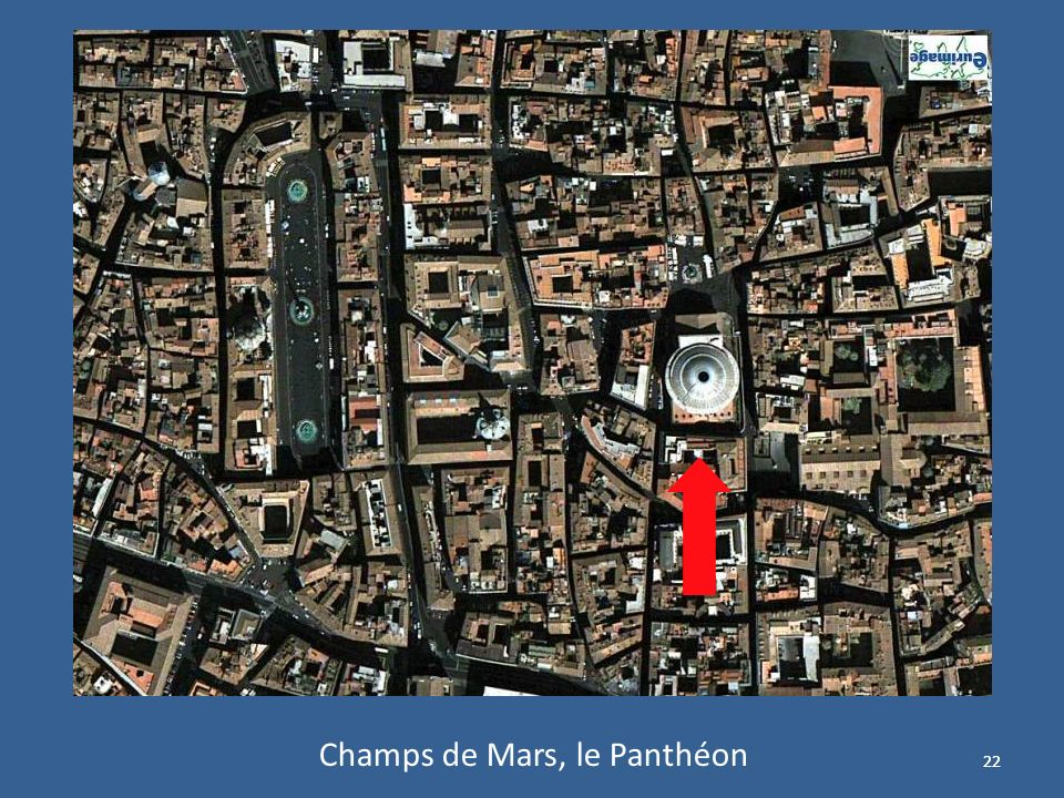 Champs de Mars, le Panthéon