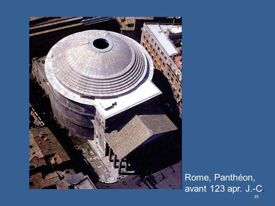 Rome, Panthéon, avant 123 apr. J.-C.