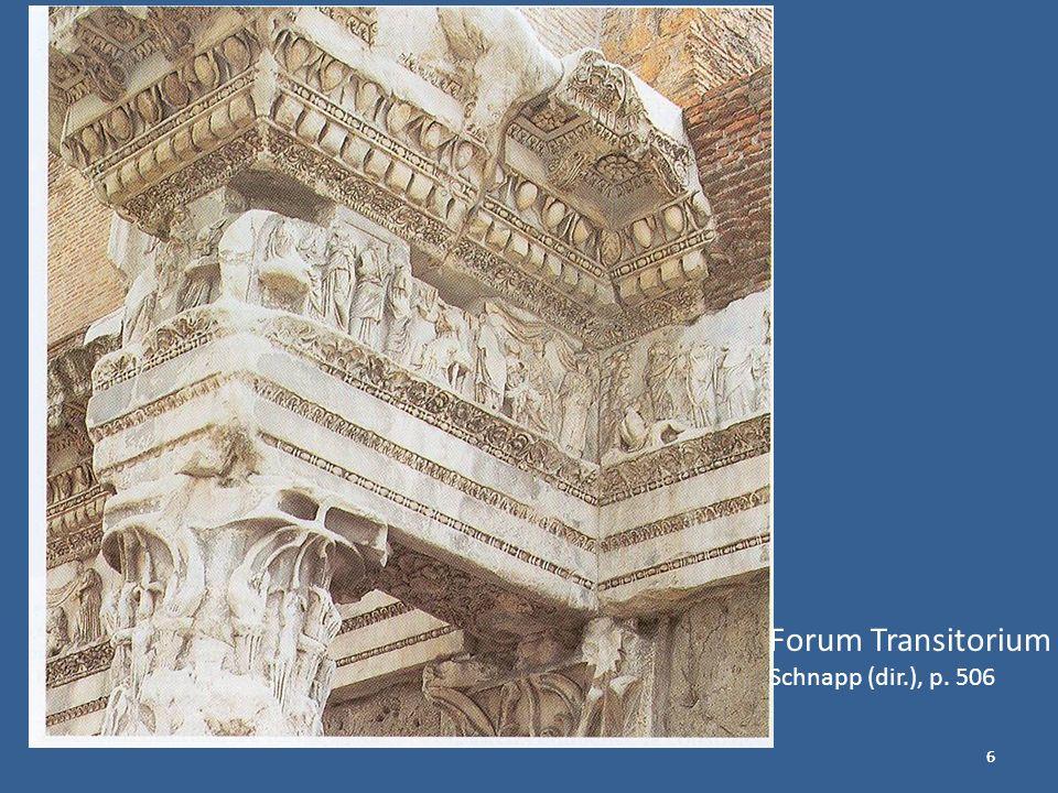Forum Transitorium Schnapp (dir.), p. 506 6 6