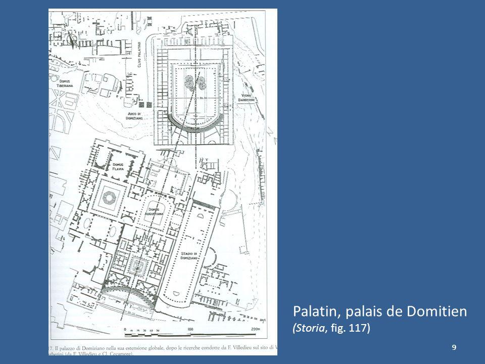 Palatin, palais de Domitien