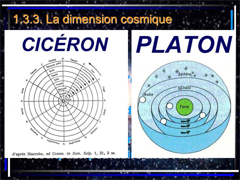 1.3.3. La dimension cosmique représentation de l'univers