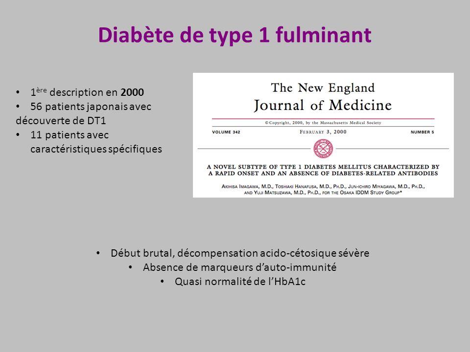 Diabète de type 1 fulminant