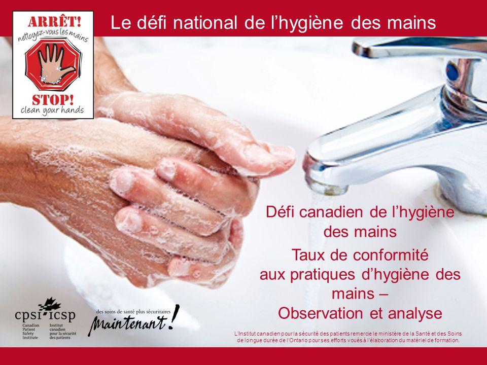 Défi canadien de l'hygiène des mains