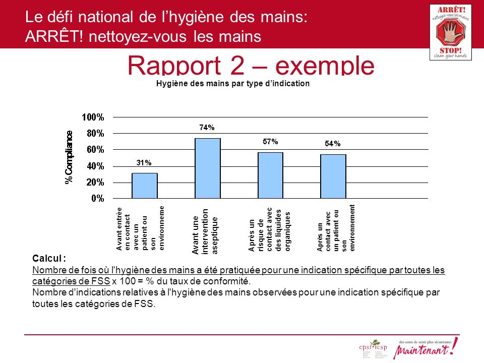 Rapport 2 – exemple Calcul :