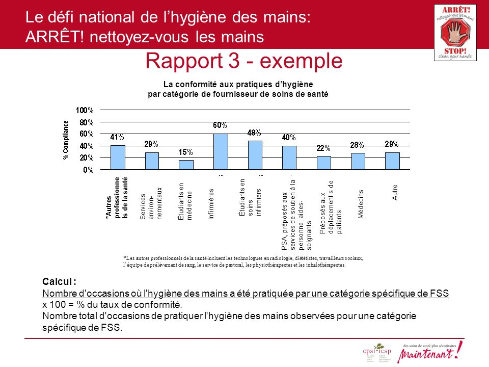 Rapport 3 - exemple Calcul :
