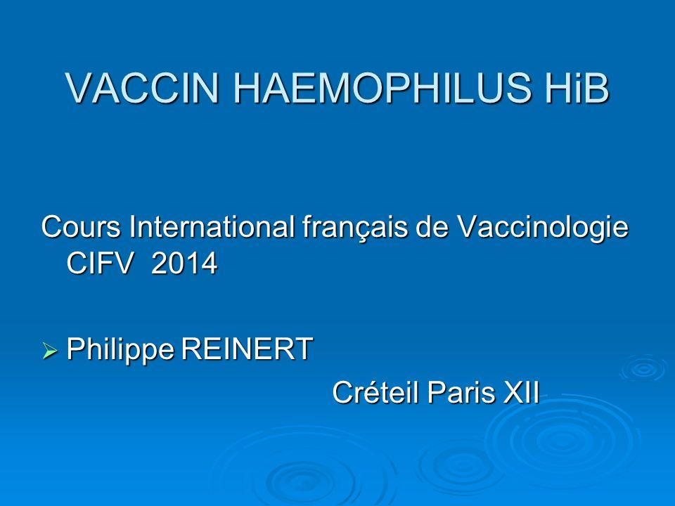 VACCIN HAEMOPHILUS HiB