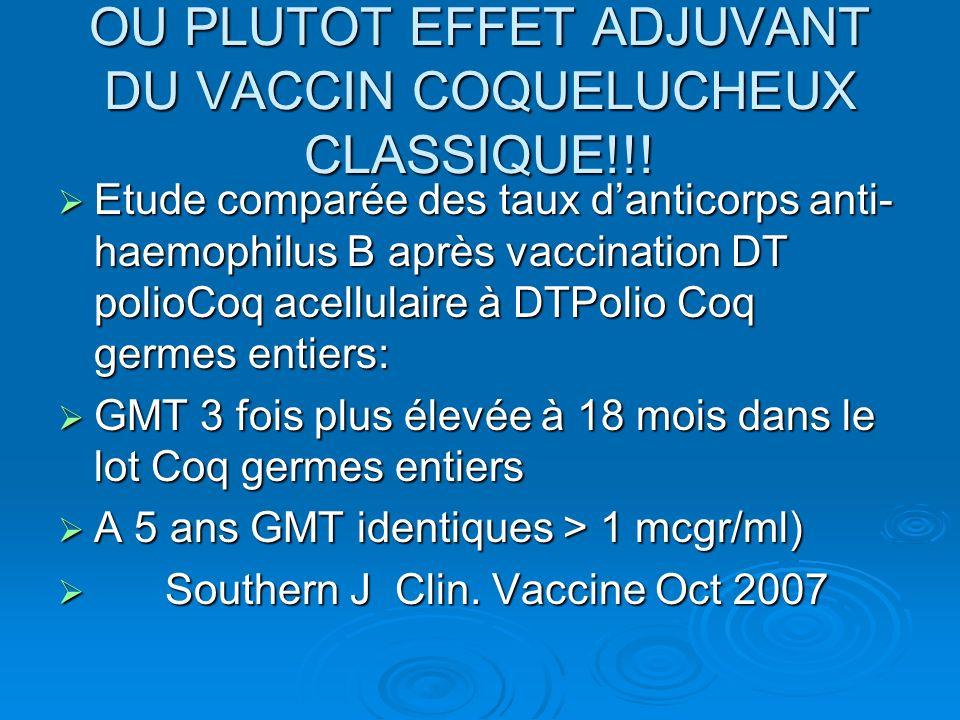 OU PLUTOT EFFET ADJUVANT DU VACCIN COQUELUCHEUX CLASSIQUE!!!