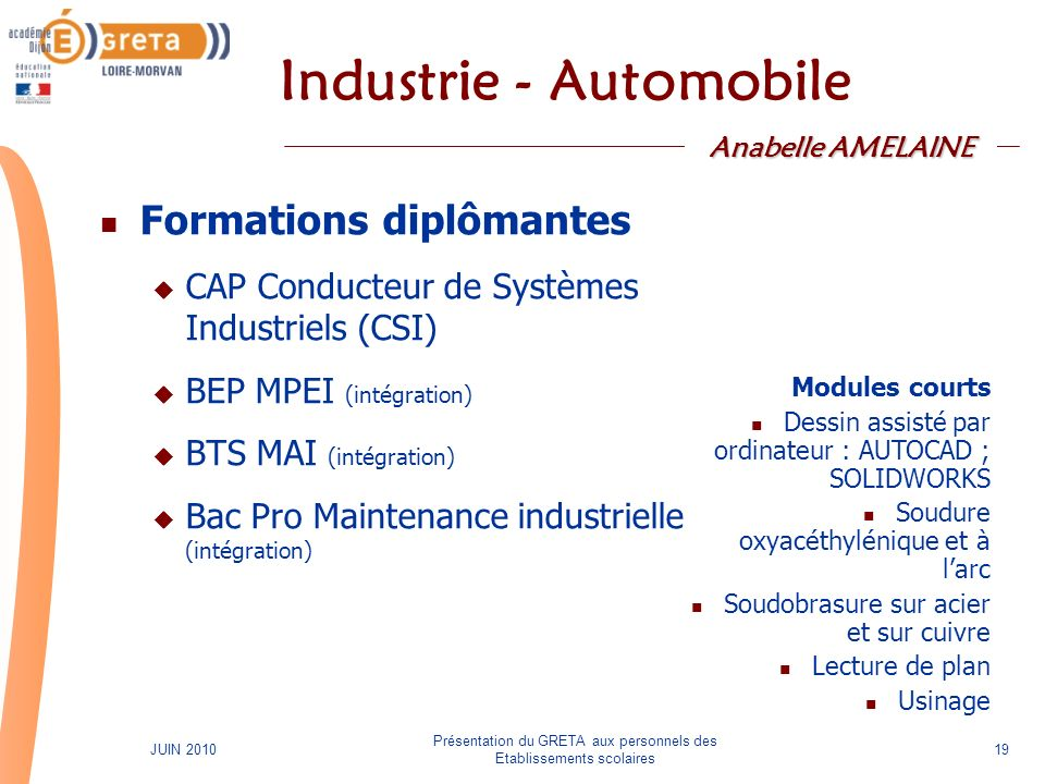 Industrie - Automobile