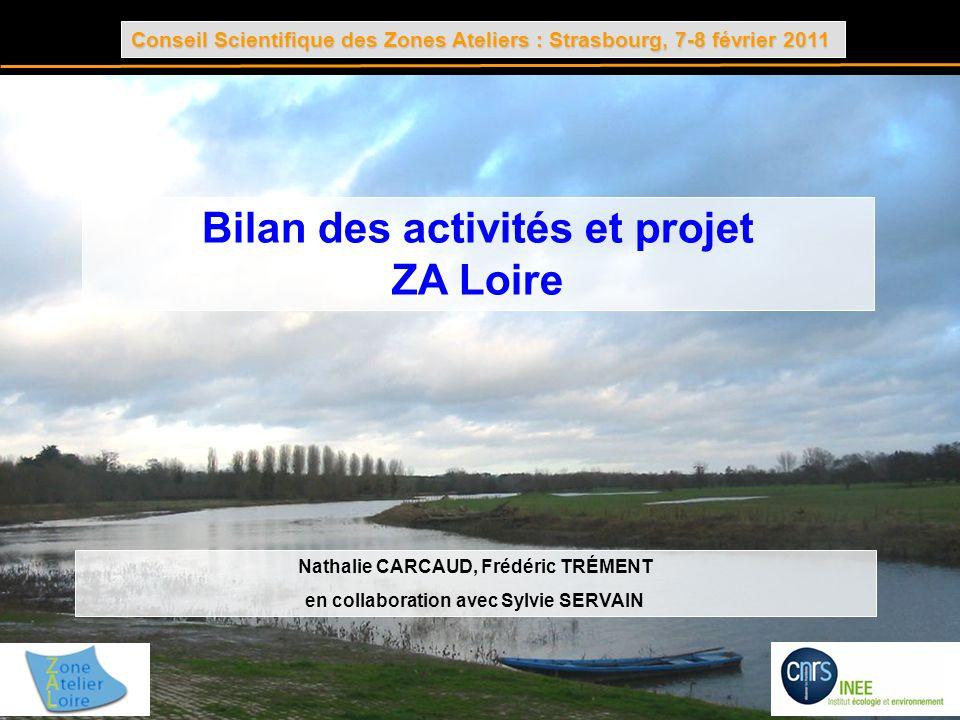Bilan des activités et projet ZA Loire
