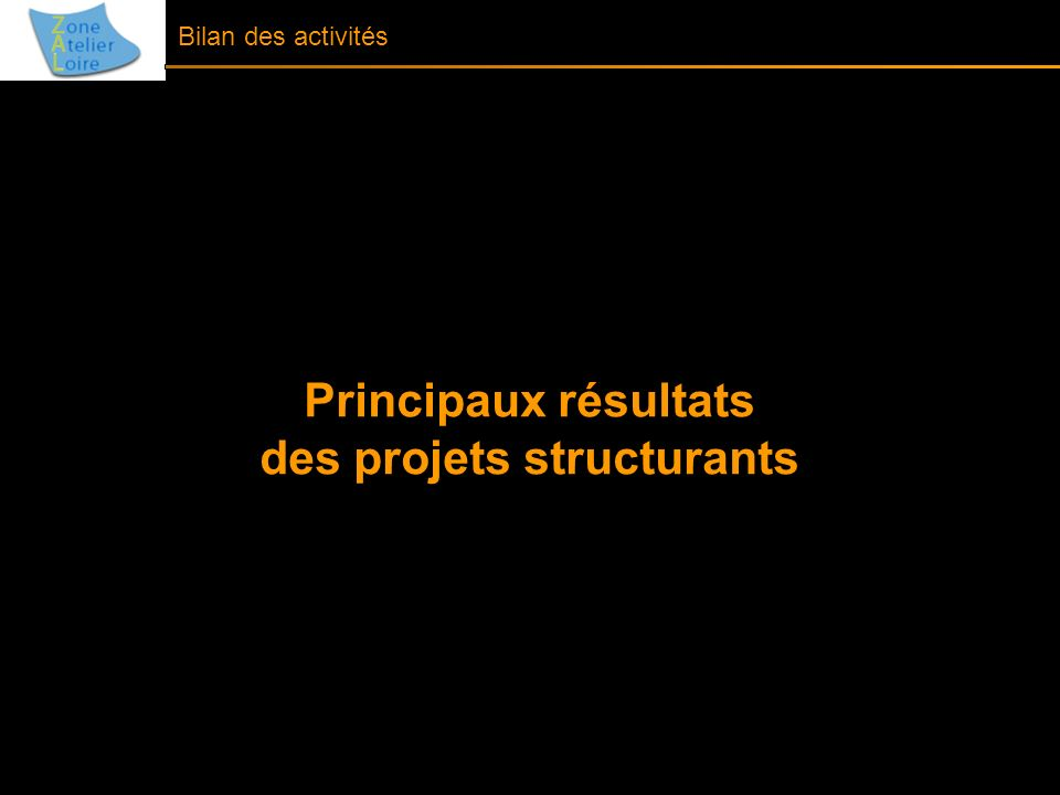 des projets structurants