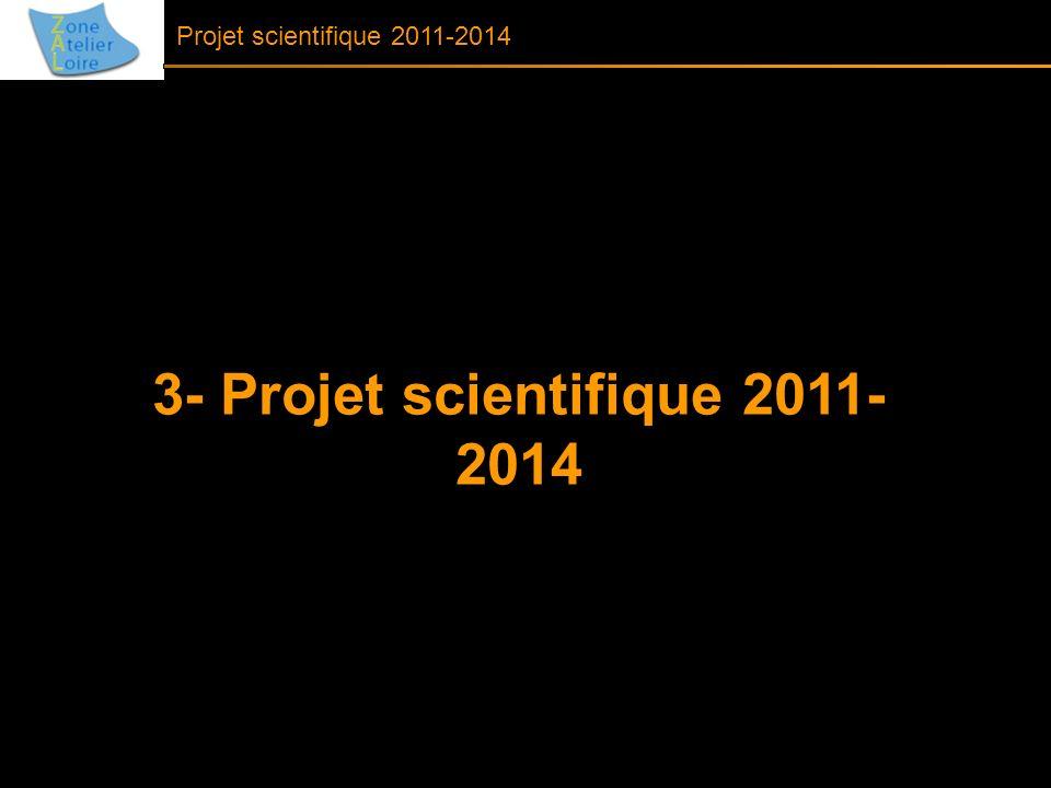 3- Projet scientifique 2011-2014
