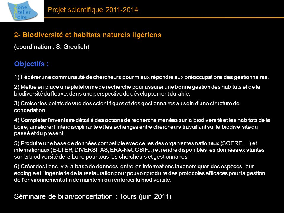 2- Biodiversité et habitats naturels ligériens