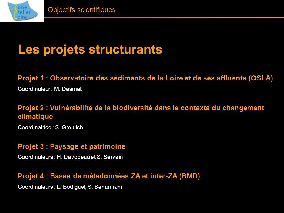 Les projets structurants
