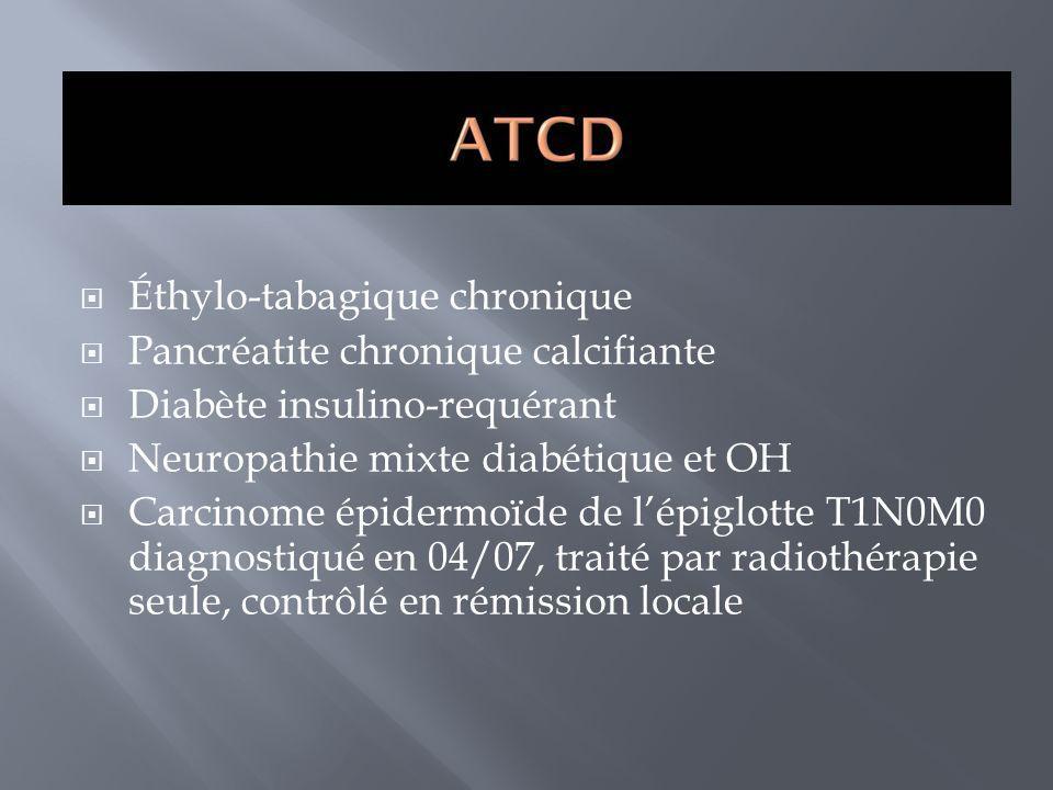 Éthylo-tabagique chronique