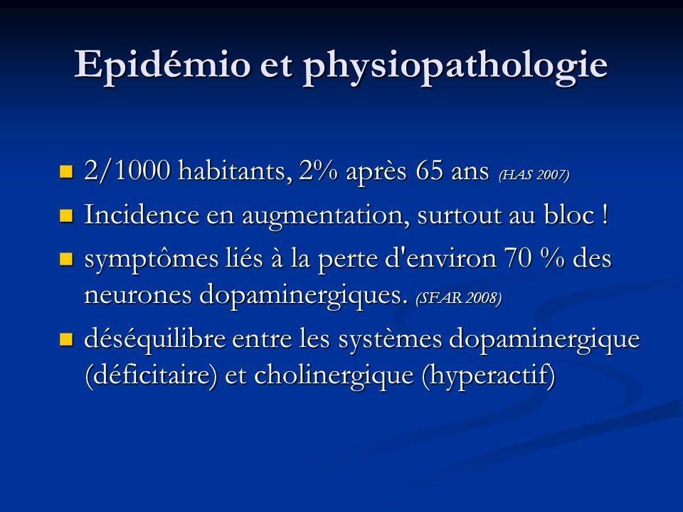 Epidémio et physiopathologie
