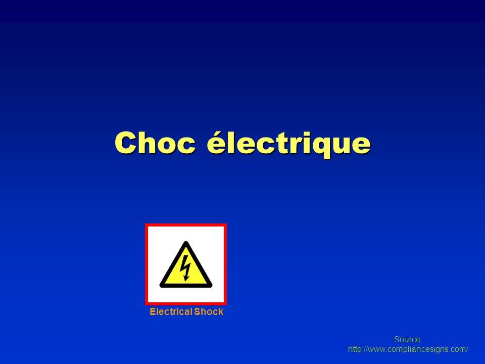 Choc électrique Electrical Shock Source: