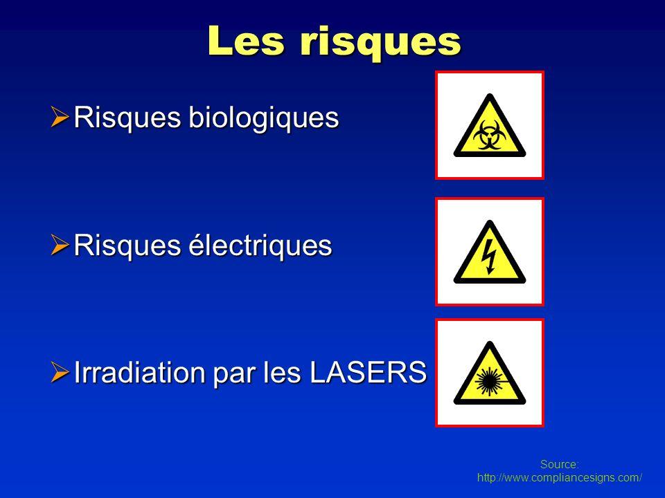 Les risques Risques biologiques Risques électriques