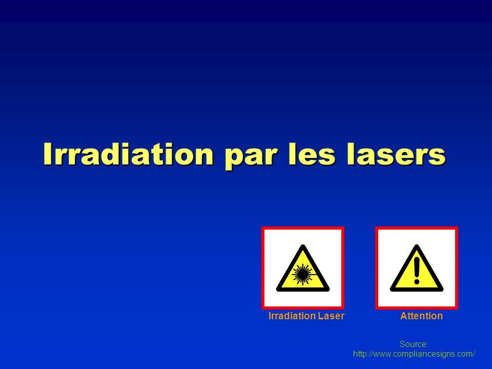 Irradiation par les lasers