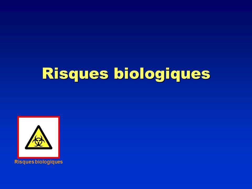 Risques biologiques Risques biologiques