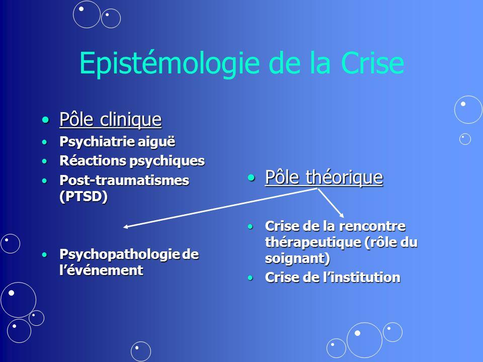 Epistémologie de la Crise