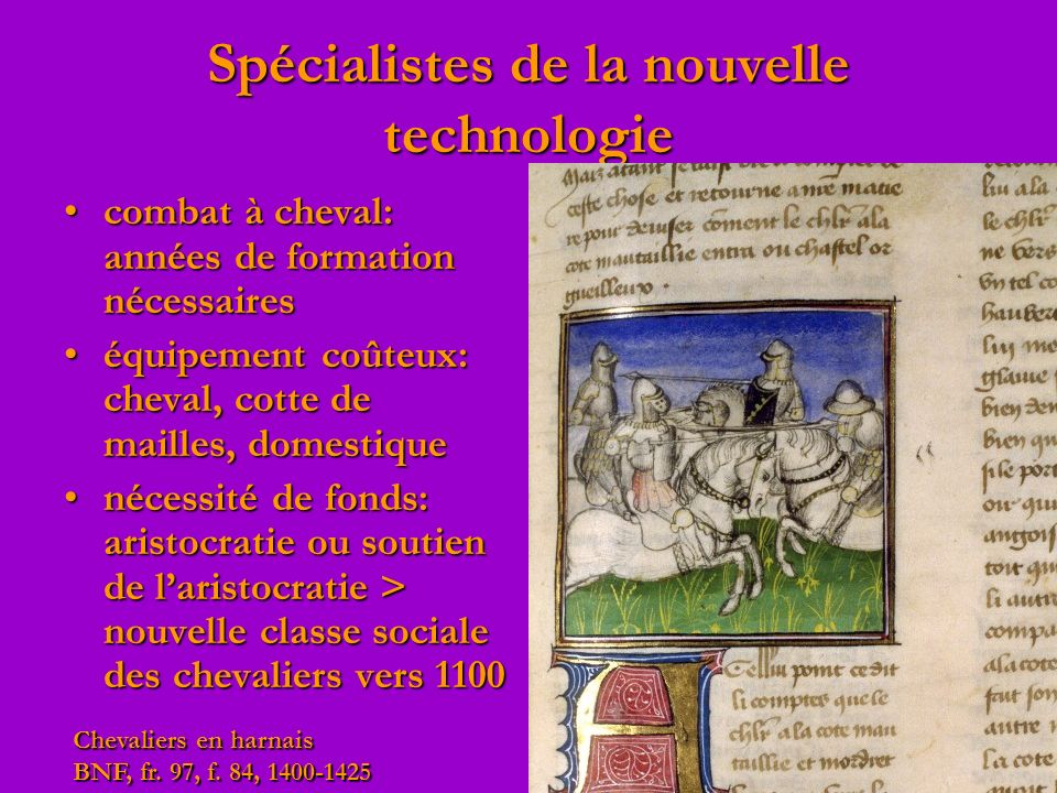 Spécialistes de la nouvelle technologie