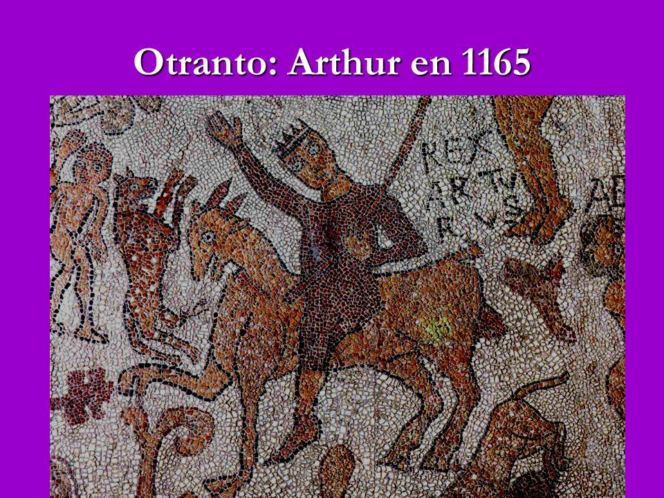 Otranto: Arthur en 1165
