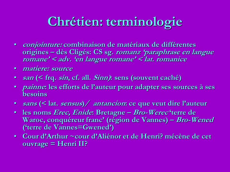 Chrétien: terminologie