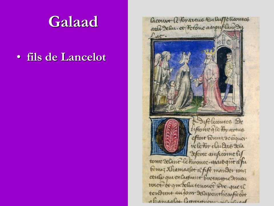 Galaad fils de Lancelot