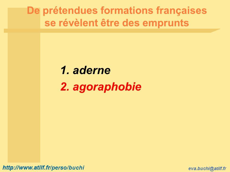 De prétendues formations françaises se révèlent être des emprunts