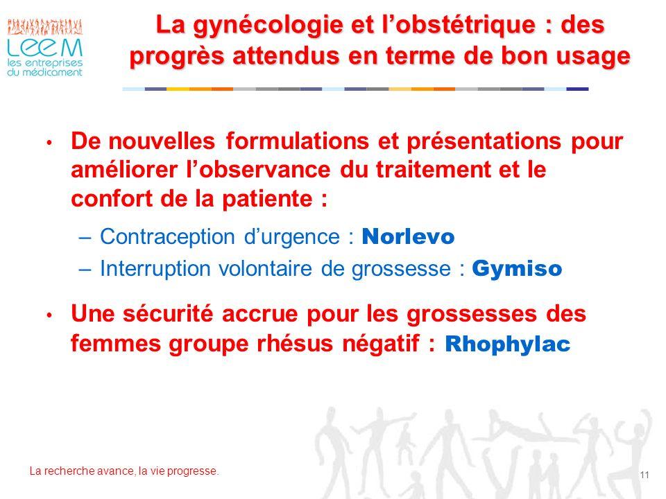 La gynécologie et l'obstétrique : des progrès attendus en terme de bon usage