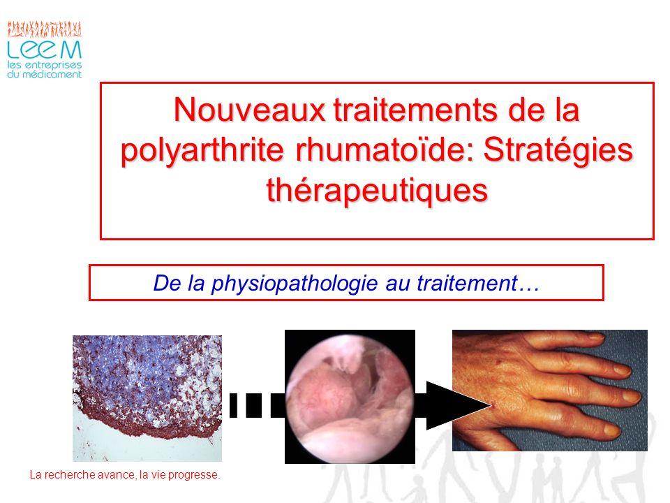 De la physiopathologie au traitement…
