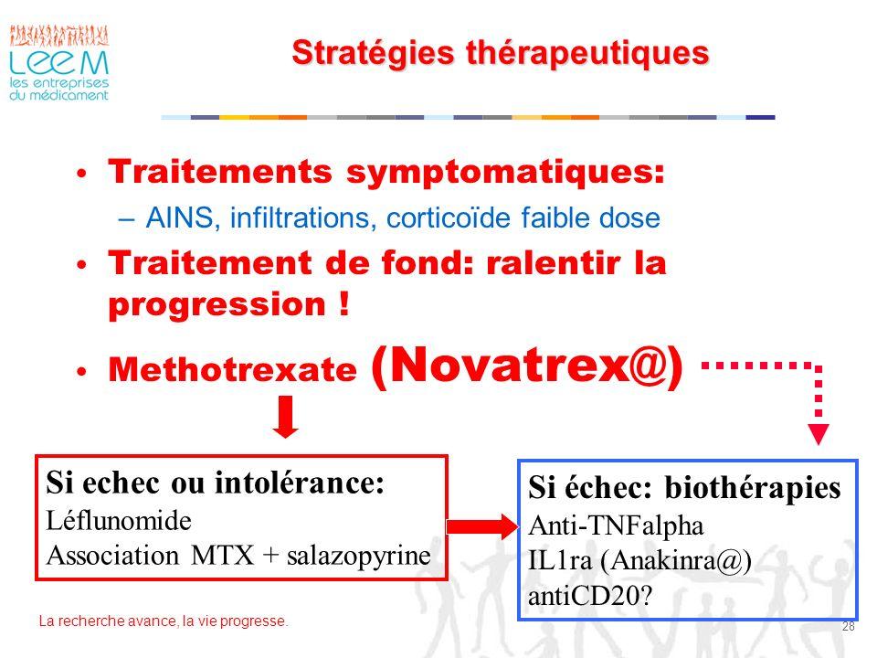 Stratégies thérapeutiques