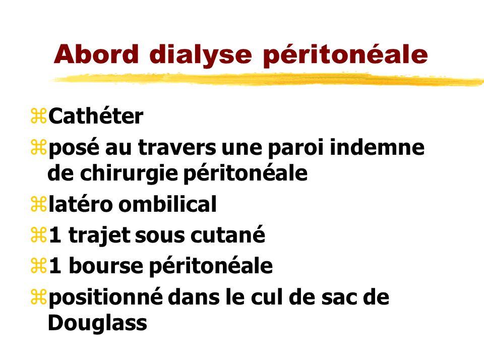 Abord dialyse péritonéale